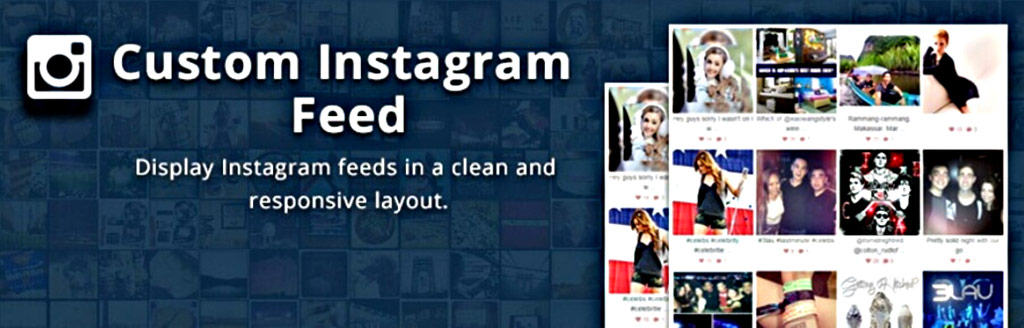 plugin para wordpress custom instagram feed