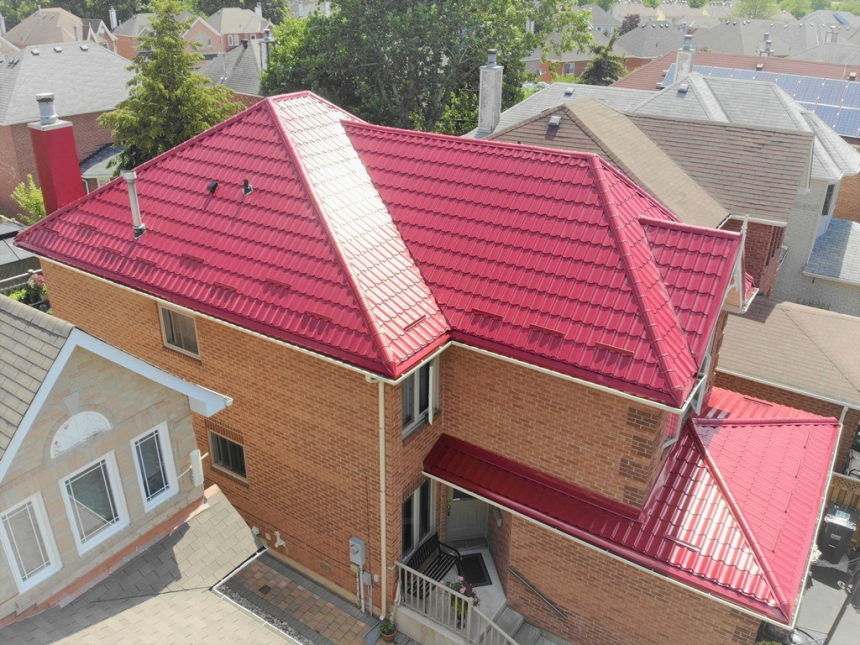 Mái nhà với hình dáng nhọn hợp phong thủy