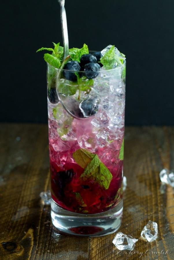 Image result for mojito blueberry