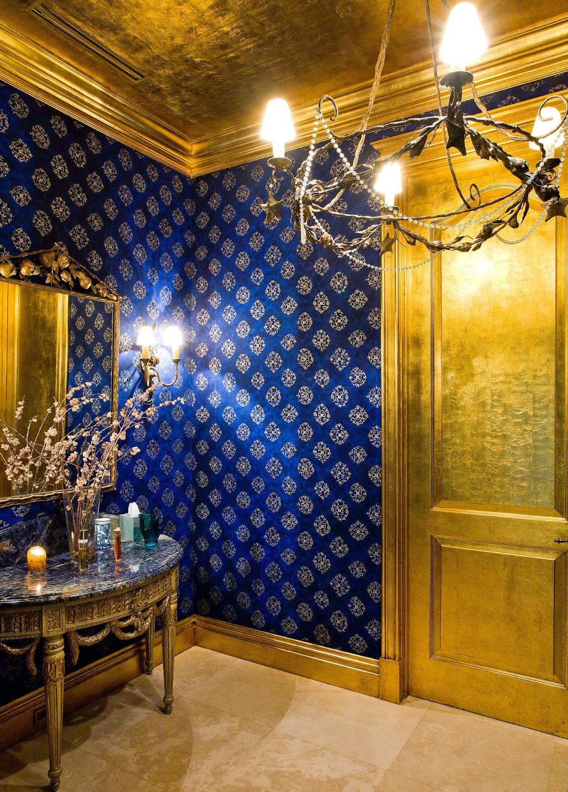 Sơn hiệu ứng Waldo-Dát vàng lá dành cho thiết kế khách sạn