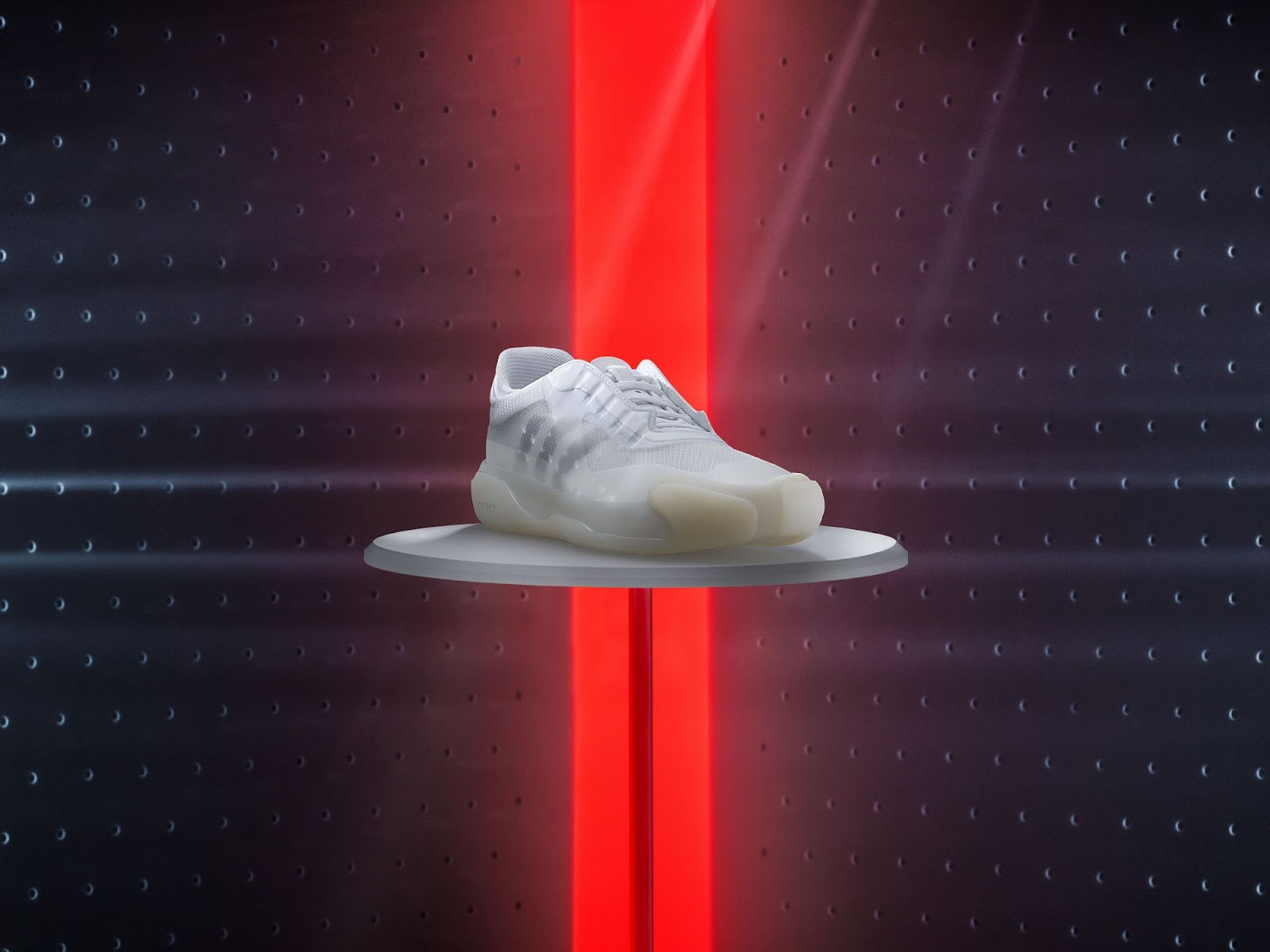 adidas x Prada - the A+P LUNA ROSSA tennis shoe, created for cruising 2