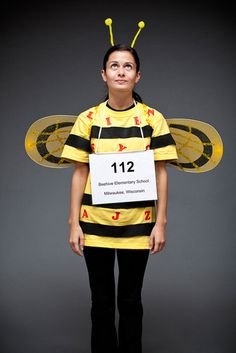 Spelling Bee  sc 1 st  Her C&us & 6 Punny Halloween Costumes | Her Campus