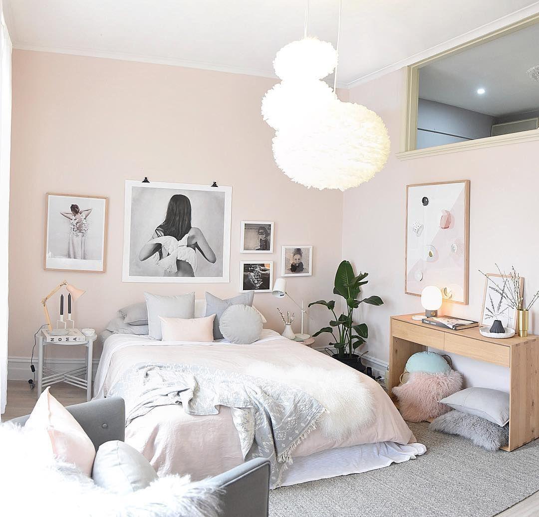 Pastel Scandinavian Bedroom Ideas