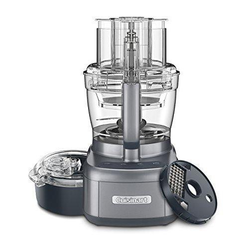 Top of the line food processor from Cuisinart. Gunmetal color, 13-cup capacity.