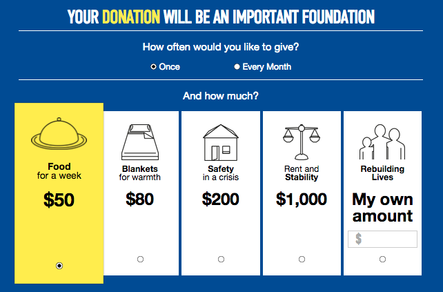 donation for foundation