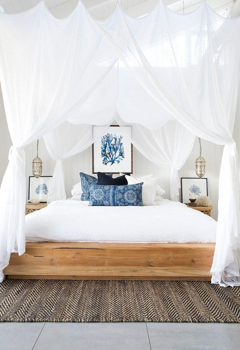 Boho-Beachy Bedroom Decor