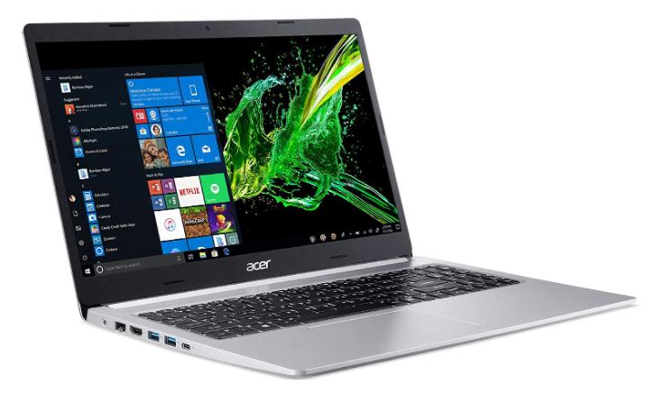 Imagem de notebook da marca Acer e modelo Aspire 5