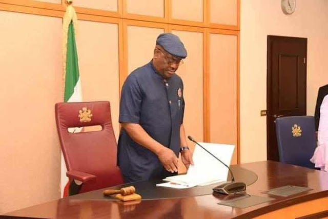 Photos: Gov. Wike presides over the first Executive Council Meeting of his Second Term