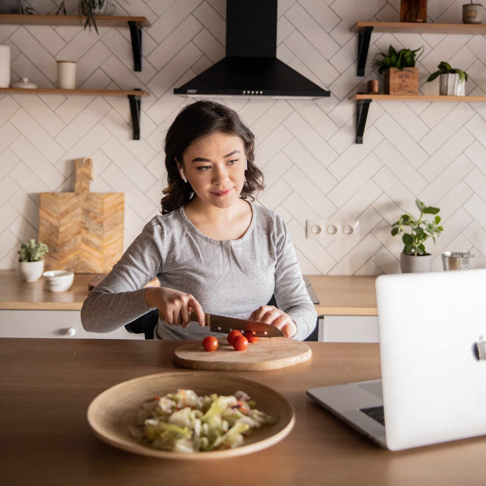 recipes from laptop