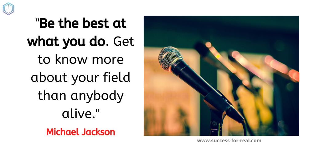 365 Success Quotes For Motivation - Picture Quote By Michael Jackson