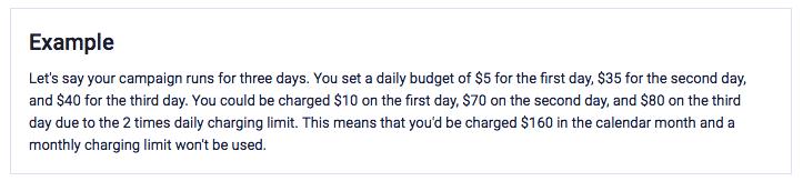 example spend