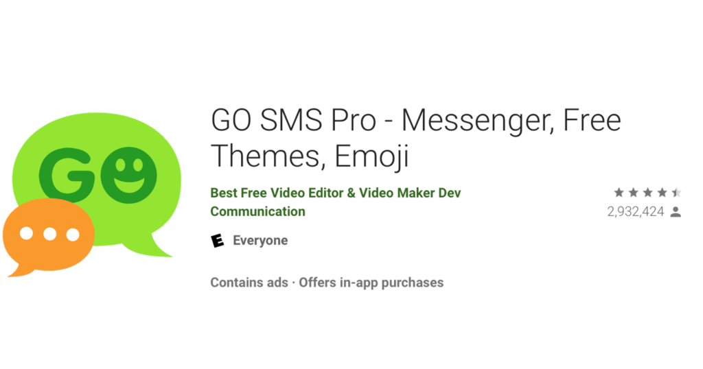 Go SMS Pro Messaging App Exposed Users' Private Media Files 2