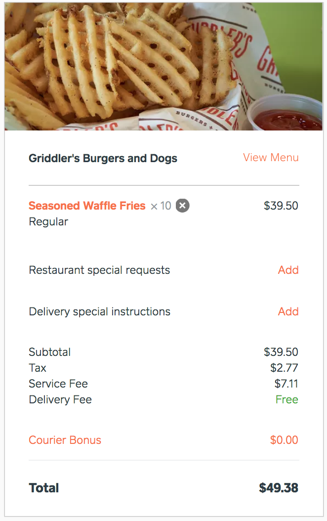 Cheapest Food Delivery Service? Here's a pricing comparison!