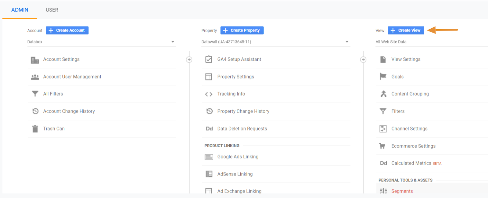 how to connect your YouTube channel to Google Analytics step 2