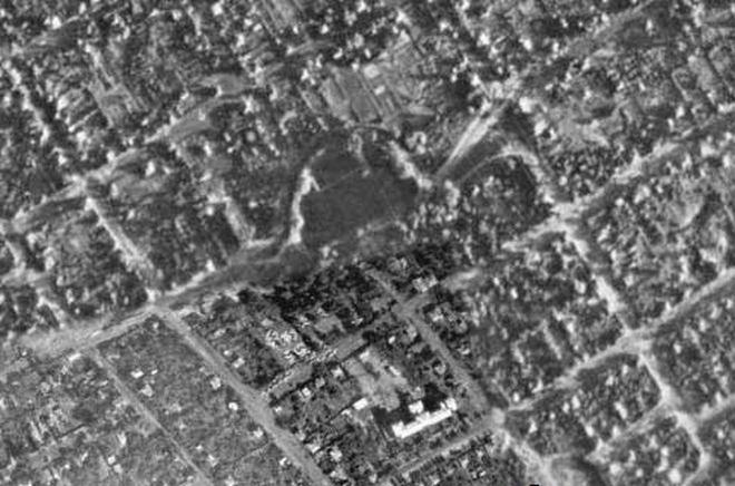 Тюрина дача, аєрозйомка 1941 р.