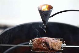 Flambadou used on Grilled Steak