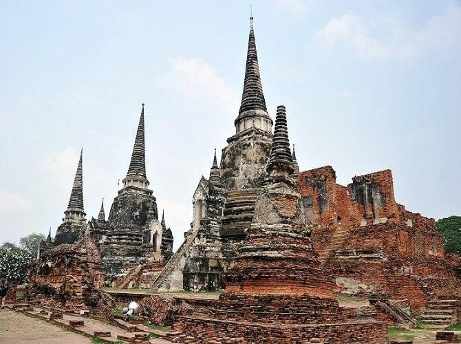 Kinh đô cổ Ayutthaya tại Thái Lan gây ấn tượng bởi những kiến trúc độc đáo