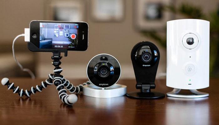 Những thiết bị camera tiện ích, thông minh