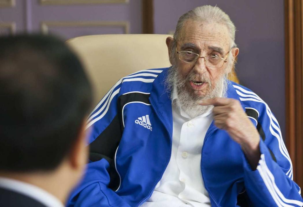 古巴強人、前總統斐代爾.卡斯楚持續關注美國總統大選。 美聯社