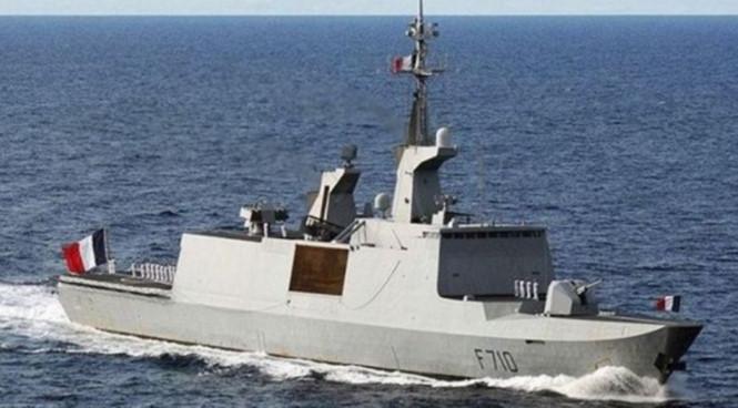 Một tàu hộ tống lớp La Fayette của Hải quân Pháp /// Hải quân Pháp