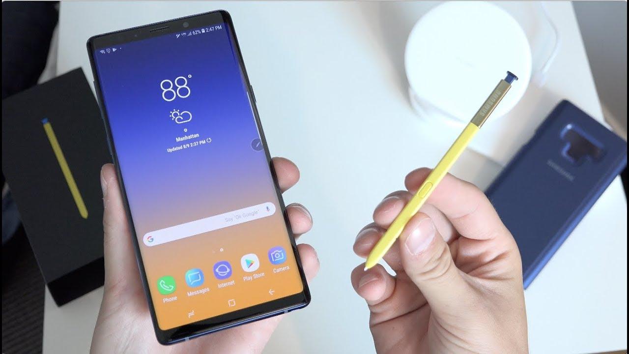 Thay IC nguồn Samsung Galaxy Note 9 lấy ngay tại Hà Nội