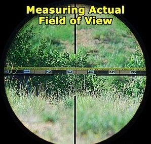 Field of View Rifle Scope