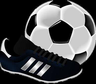 Fútbol, Botas De Fútbol, Bola, Deportes