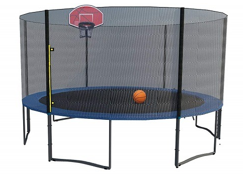 #5. Exacme Trampoline with Enclosure Net