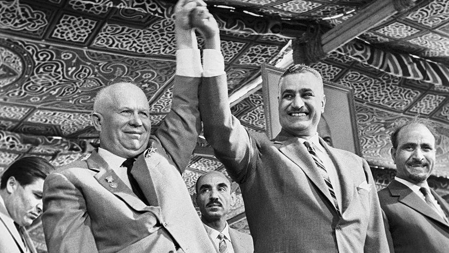 Фото открытых источников. Хрущев и ... мировая социалистическая революция стоит денег, и не малых...