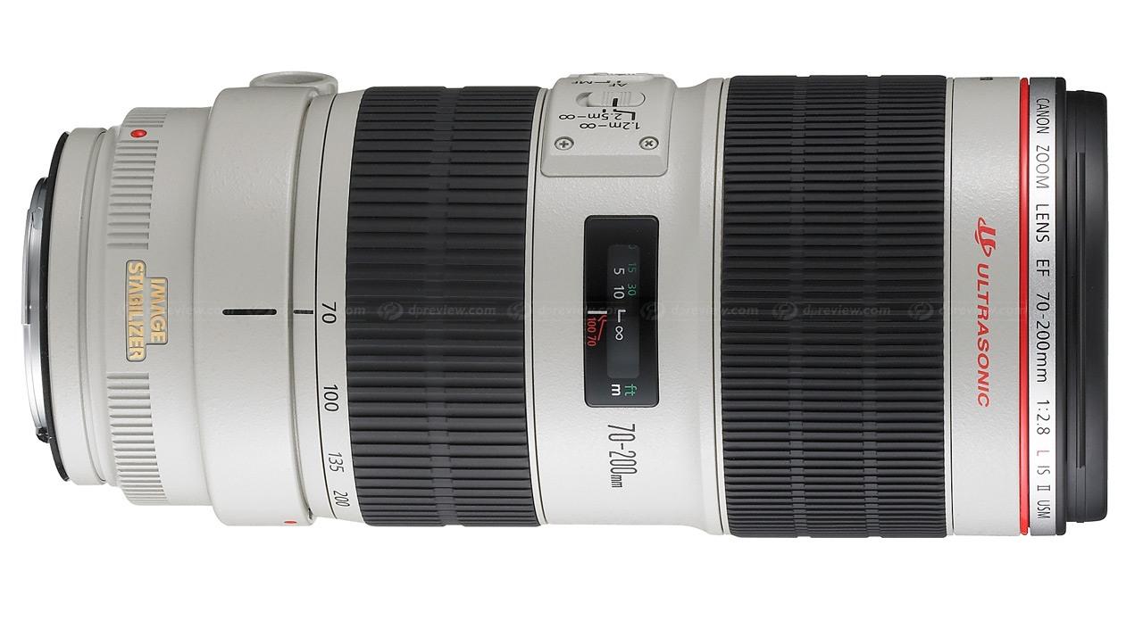Canon 70-200mm f2.8 IS II d