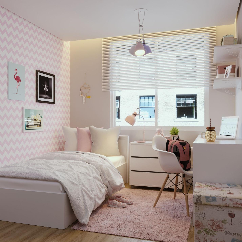Phòng ngủ nhỏ hiện đại