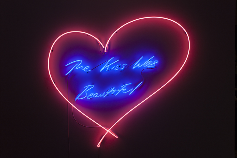 Tracey Emin (b. 1963) The Kiss Was Beautiful