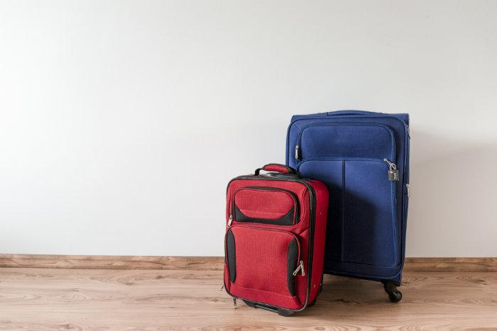 El peso de las maletas de viaje es crucial