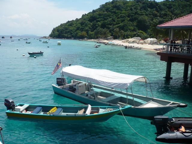 Jeti Pulau Perhentian Kecil, Terengganu.