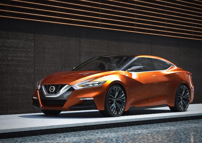 Nissan Sport Sedan Concept เป็นเอกลักษณ์ในการออกแบบของ Nissan ทุกรุ่น