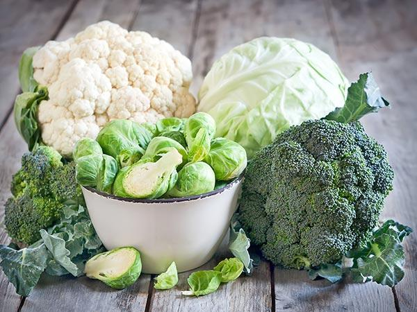 A group of cauliflower  Description automatically generated