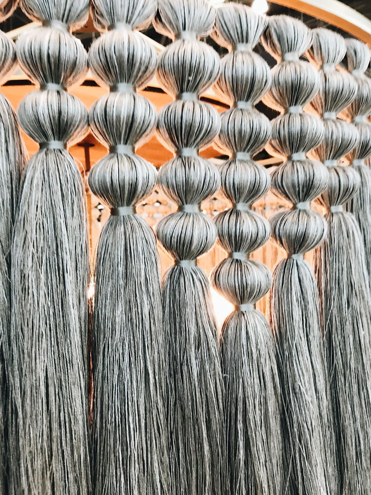 ICFF international contemporary design furniture fair tassels
