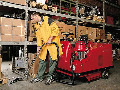 Máy hút bụi công nghiệp công suất lớn - Vina Hitech