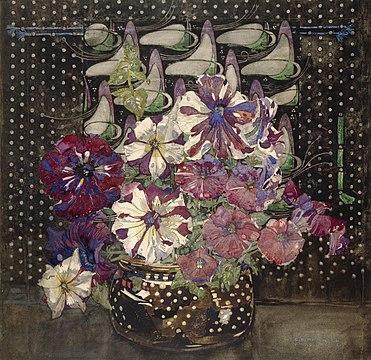 371px-Charles_Rennie_Mackintosh_-_Petunias_-_1916.jpg