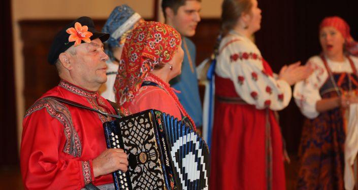 Латвийский форум национальных меньшинств в 2018 году, русская кухня и русские песни