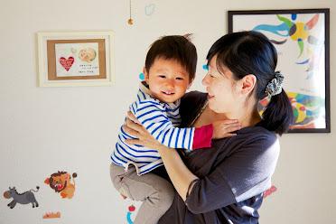 長男・晴太ちゃん(2歳)と