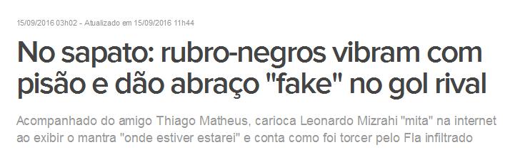 FlaPress com orgulho do que é errado