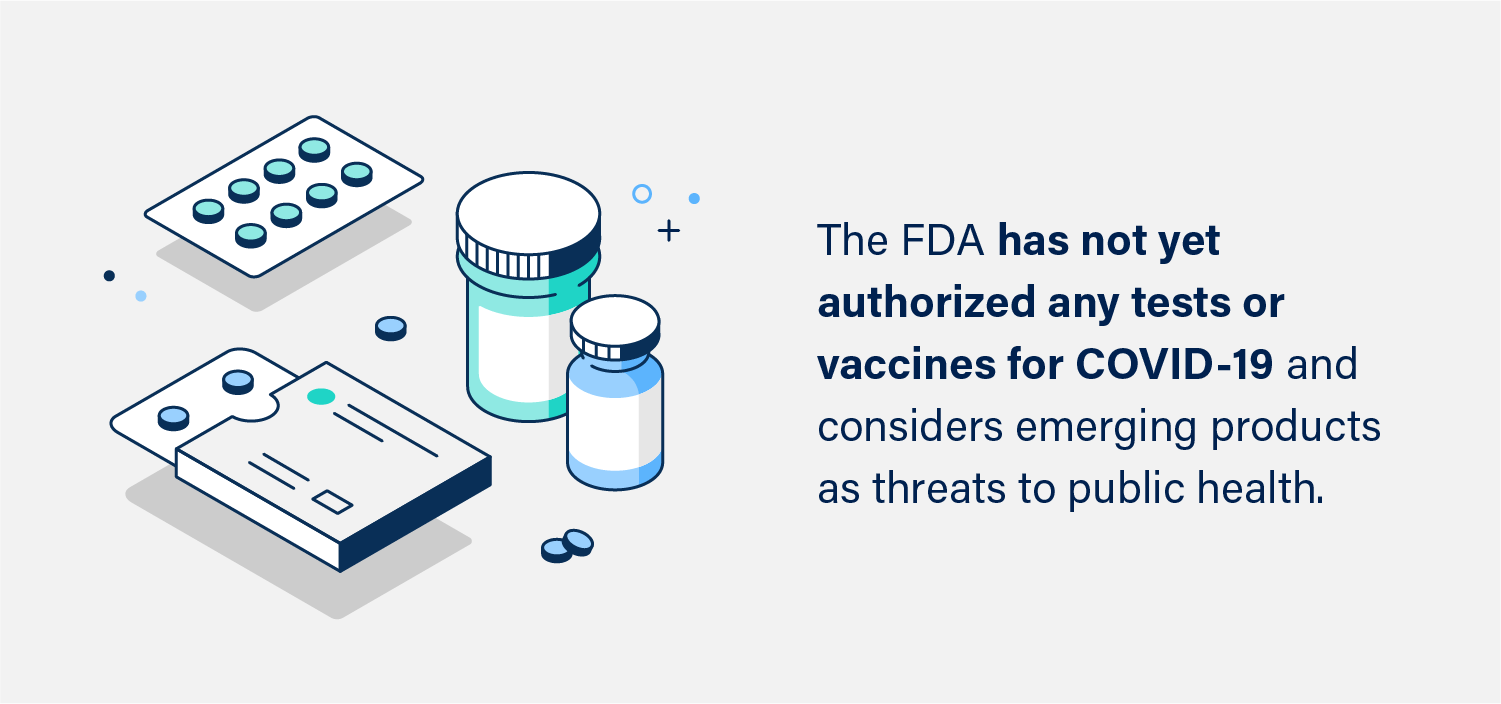 Graphic: FDA Authorization Scams