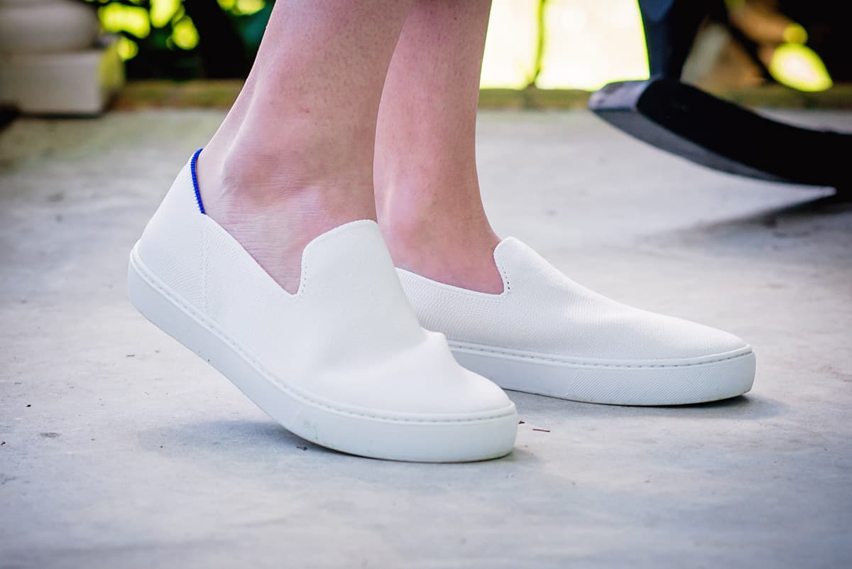 Daily Mom parents portal holiday 2018 Rothys White sneaker 2 new shoes