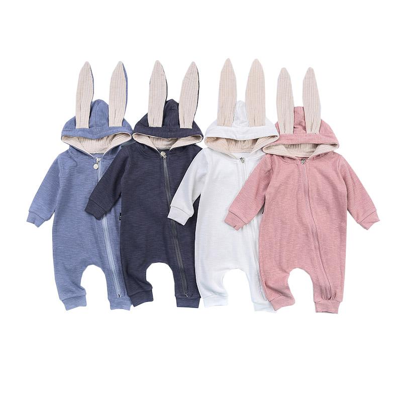 Kombinezon niemowlęcy króliczek