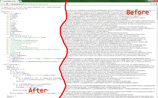 pretty beautiful javascript chrome web store