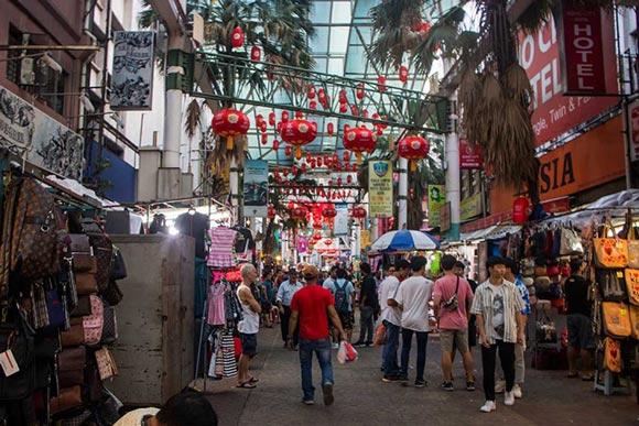بازار چینی های مالزی