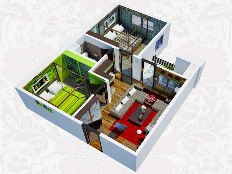 căn 2 phòng ngủ chung cư hh2b linh đàm