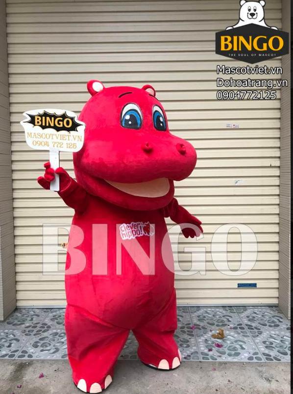 Mascot Hà Mã Clever