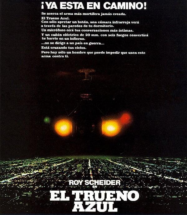 El trueno azul (1982, John Badham)